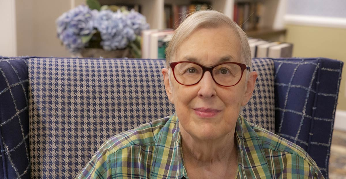 Portrait of Kenna, a retirement living resident