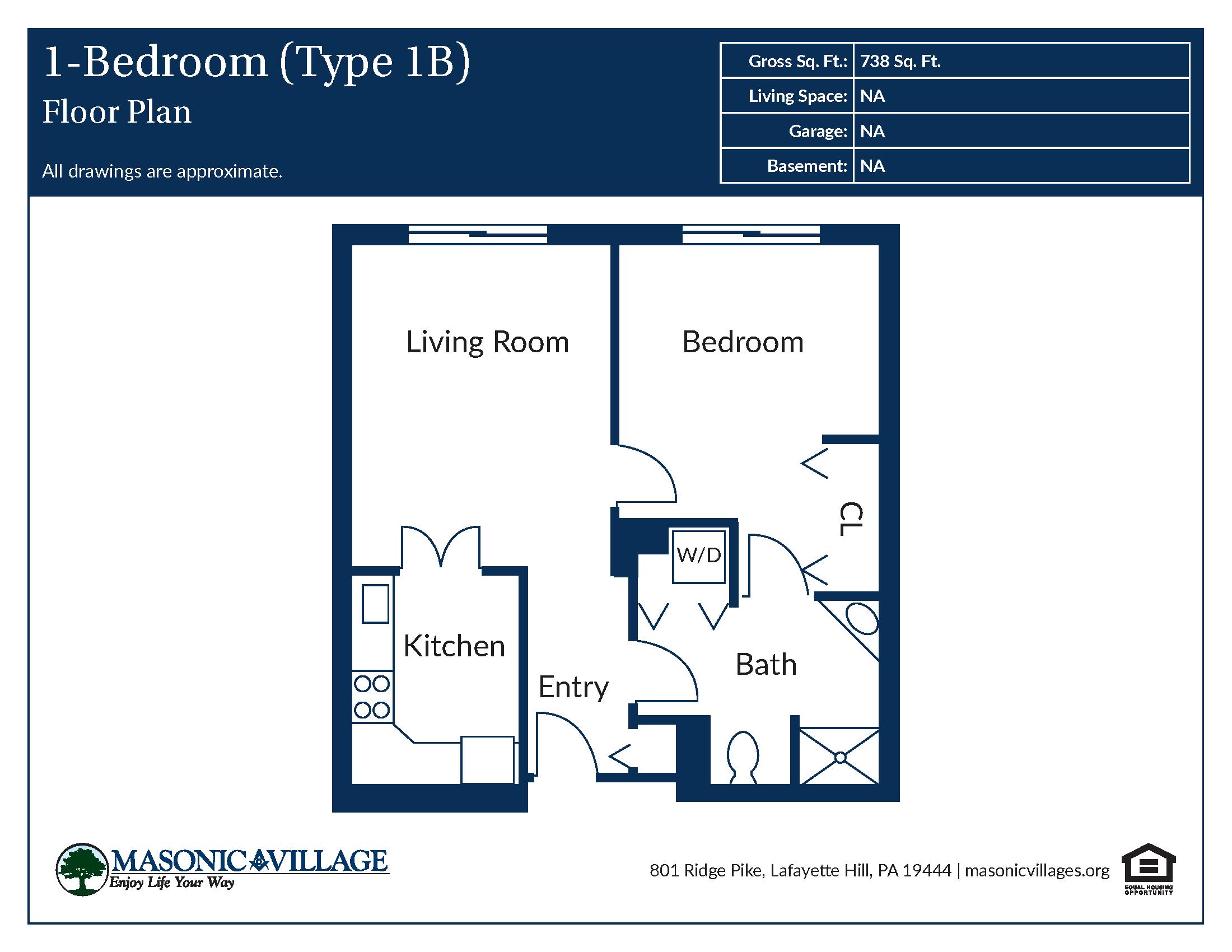 Apartment Type B1 Floor Plan
